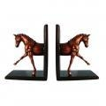 China Glossy Horse Bookends