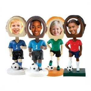 China custom bobbleheads soccer-photo-bobble on sale