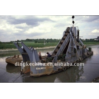 China High quality and efficiency sand and iron dredger on sale