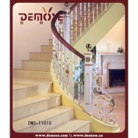 Decorative Wrought Iron Staircase Railing