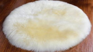 China Lambskin Rug (Pelt Shape) on sale