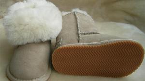 China Kid's Sheepskin Snow Boots BB15-03 on sale