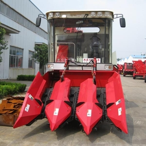 China 4YZ-3 type self-propelled corn combine harvester on sale