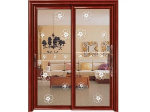 China Hanging doors Product name:15-077 Euro arc Hanging sliding door series on sale