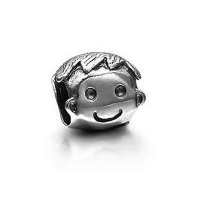 China Pandora Charm Boy Face Sterling Silver code: Pandora_803 on sale