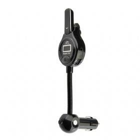 China car bluetooth FM transmitter with bluetooth earphone on sale