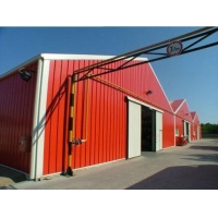 Prefabricated Low Cost Steel Structure Industrial Sheds Design Steel Company