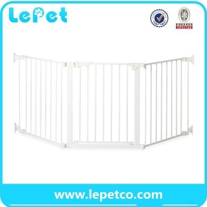 China Pet Door for dogs pet safety door baby safety gate lockable safe flap wholesale supplier on sale