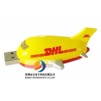 China Plastic USB Drive Model  Airplane USB Pen Drive on sale