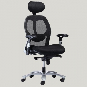 China 0634B-2P5B high back lumbar support office chair on sale