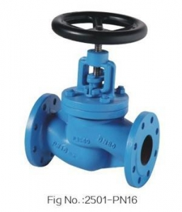 China DIN3356 PN16 CAST IRON GLOBE VALVE on sale