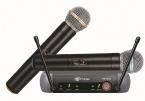 China TM-UF02 UHF Dual Channel wireless microphone on sale