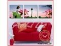 China Nice Printed Stretched Canvas with Wooden Frame on sale