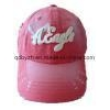China Frayed and Sprayed Washed Cap (HB-S87) for sale