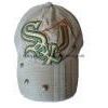 China Washed PU Applique Cap with Metal Button Trimmed on The Peak (BH-S093) for sale