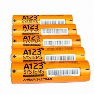 China High drain lifepo4 battery ANR32113M1 4400mah 3.2V for A123 system on sale