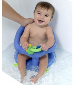 China Safety 1st Swivel Bath Seat - Pastel Blue on sale