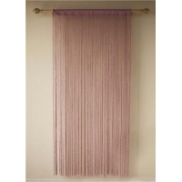 China Best blackout shimmering string window curtain on sale