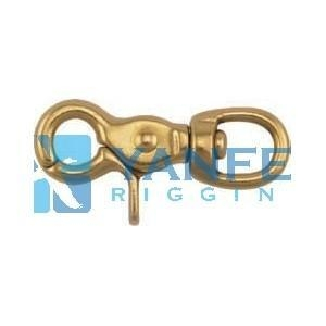 China Solid Brass Harness Eye Trigger Snap Hooks on sale