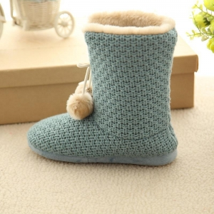 China cashmere open woman snow boot(KL-B-158) on sale