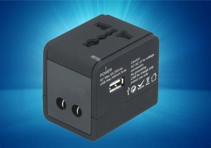 China JMR005U Universal Travel Adaptor with usb 5V 500mA on sale