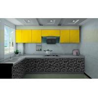 China Kitchen Cabinet L shape Modern kitchen furniture Acrylic kitchen cabinet on sale