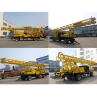 400m trailer type diesel generator rotary water well drilling rig BZCT400SZ/BZT400SZ/BZCT400/BZT400