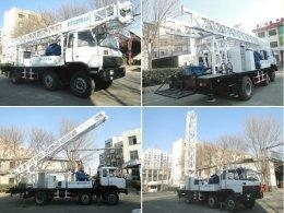 China 200m deep portable water drill rig BZC200CA truck mounted drilling rig on sale