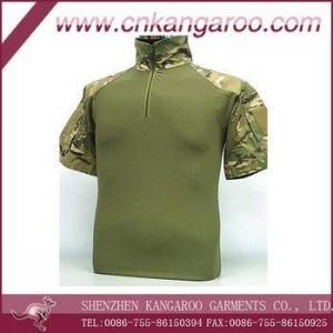 China Military/Tactical/Outdoor Shirt Men Tight T-shirt Army Combat Shirt on sale