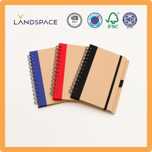 China Recycled Spiral Bound Notebooks on sale