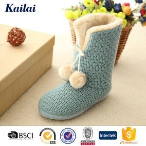China Snow Boots Cashmere Open Woman Snow Boot on sale