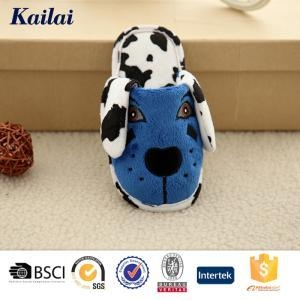 China Baby Shoes Embroidered Dog Big Ears Baby Slipper on sale