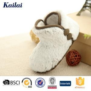 China Baby Shoes Plush Child Boot on sale