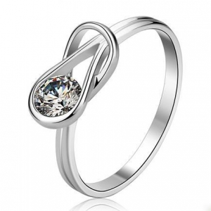 China S925 Silver Engagement Ring Design Item: R0138 on sale