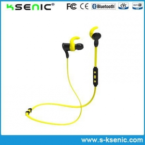 China Bluetooth Earphone 2016 Bluetooth Noise Cancelling V4.1 Sport Stereo Bluetooth Headset on sale