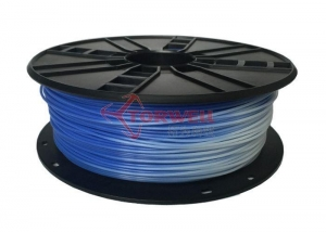 China 3.0mm PLA Filament Blue to white Model:TW-PLA300BW on sale