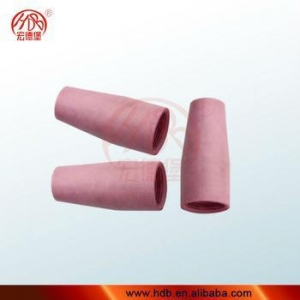 China High Pressure 95% Pink ceramic nozzle for tig torches on sale