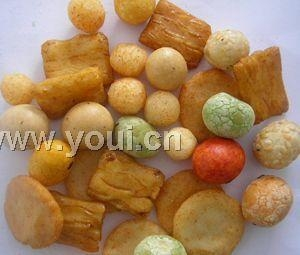 China Rice crackers and coated peanuts mix 2a on sale
