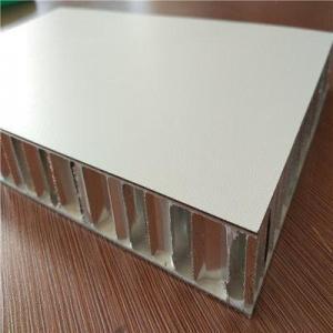 China Ship panels White Color Formica Laminate Faced Aluminium Honeycomb Panels on sale
