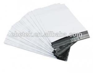 China Mailer Series self adhesive Co-extruded white poly courier bag on sale