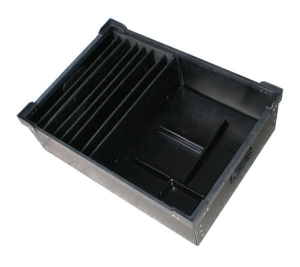 China ESD Box Product: Anti-static Turnover Box / ESD Box with divider on sale