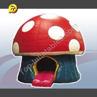 Inflatable Bouncers Red Mushroom Model Bou1-064 Kids Bouncers for sale