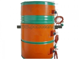 China SILICONE RUBBER HEATER Flexible Drum Heater on sale