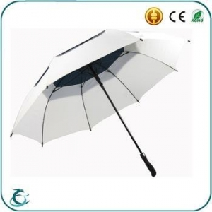 China automatic open double layer large size windproof golf umbrella on sale