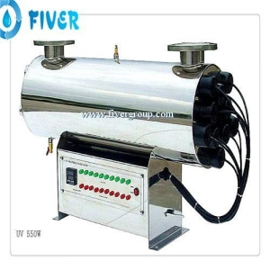 China UV Water Sterilizer 53GPM UV Disinfection Water Treatment on sale