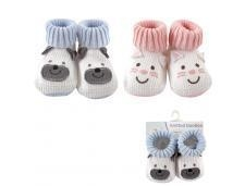 China Luvable Friends Knitted Animal Bootie on sale