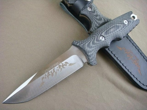 China 8CR17 Knife Soul SCU-8 Fixed Blade Hunting Knife UDTEK00666 on sale