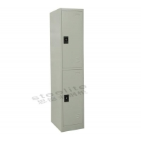 Steel locker locker-2H Hot sale 2 Door Metal Storage Locker