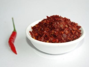 China Paprika Flakes Product Paprika flakes no seeds on sale