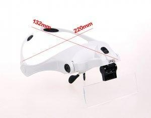 China Led head magnifier NEW LED Light Head Magnifier on sale
